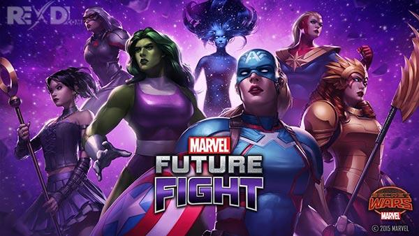 تحميل لعبة MARVEL Future Fight مهكرة اخر اصدار