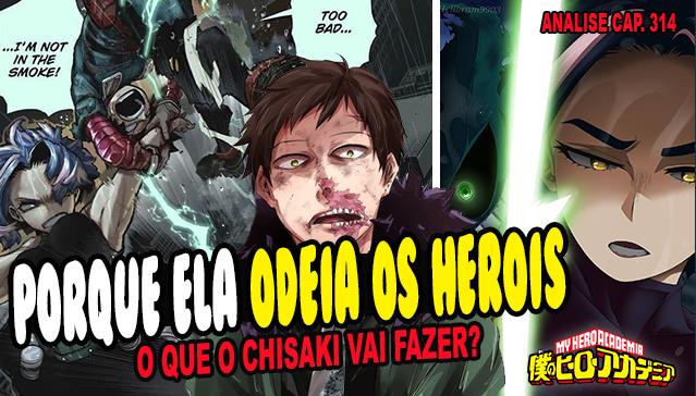 Porque LADY NAGANT Odeia os Heróis - Boku no Hero Academia 314