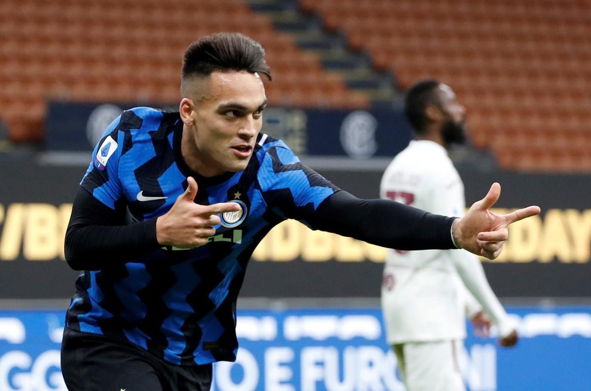 Lautaro Martínez selló la remontada del Inter de Milán ante el Torino