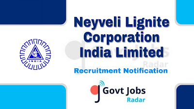 NLC Recruitment Notification 2019, NLC Recruitment 2019 Latest, central govt jobs, govt jobs in India, latest NLC Recruitment update