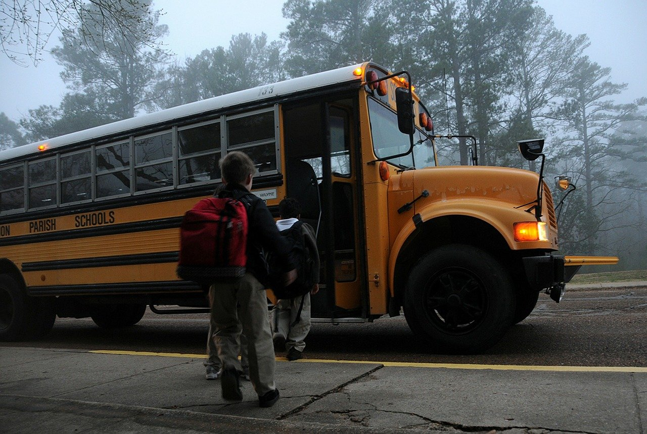 5 Things to Keep in Mind Before You Buy a House, school bus