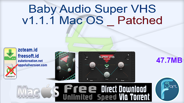 Baby Audio Super VHS v1.1.1 Mac OS _ Patched