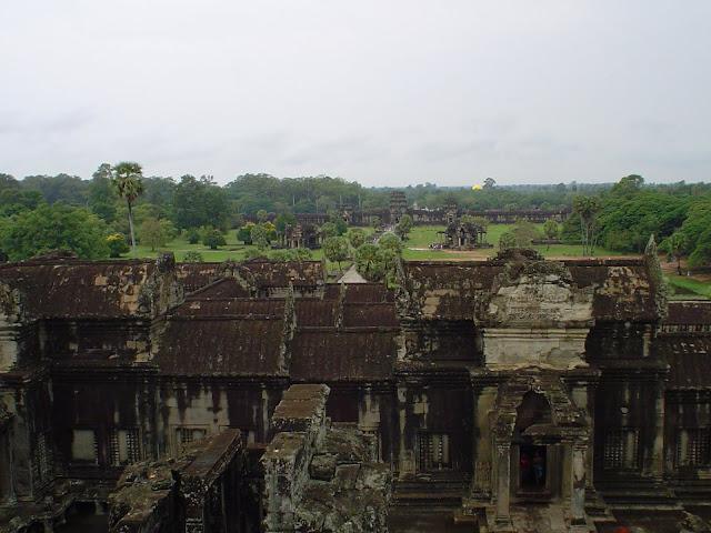 Os templos de Angkor