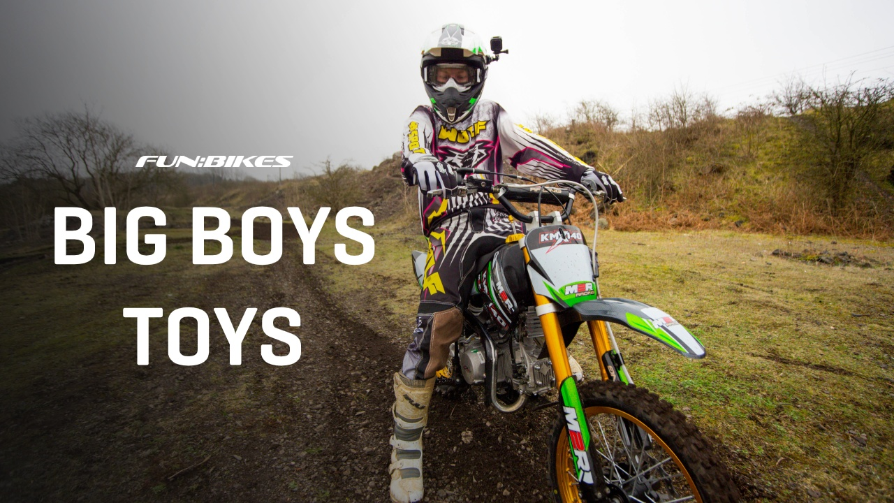 Dirt and Pit Bikes From FunBikes