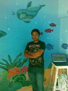 PRE SCHOOL CLASSROOM WALL MURALS VILE PARLE / SANTACRUZ / KHAR / MUMBAI
