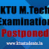 KTU M.Tech Examination Postponed