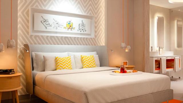 El hotel de Nickelodeon en la Riviera Maya