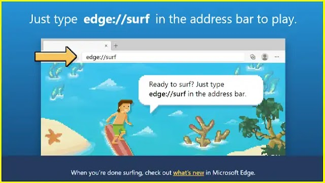 Microsoft Edge Surf Game as a Lite Edition on the web