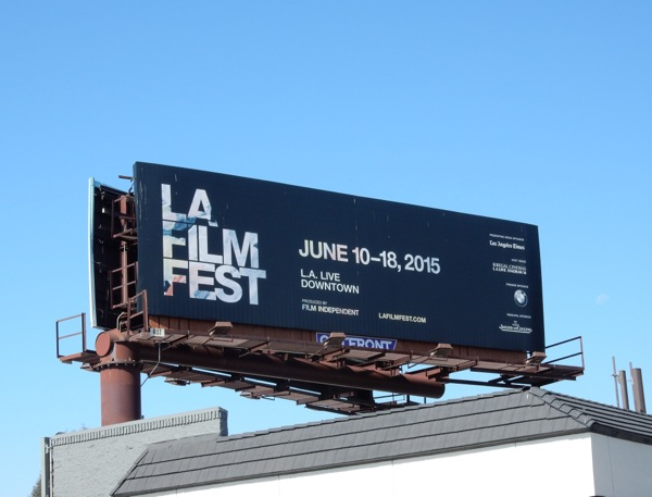 LA Film Fest 2015 billboard