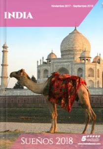 Catálogo de viajes a India 2018