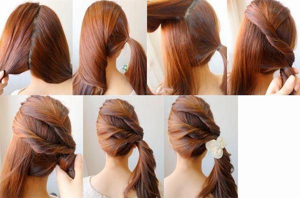 Peinados fáciles paso a paso para cada día de la semana Moda y
