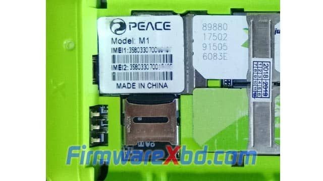 Peace M1 Flash File Download
