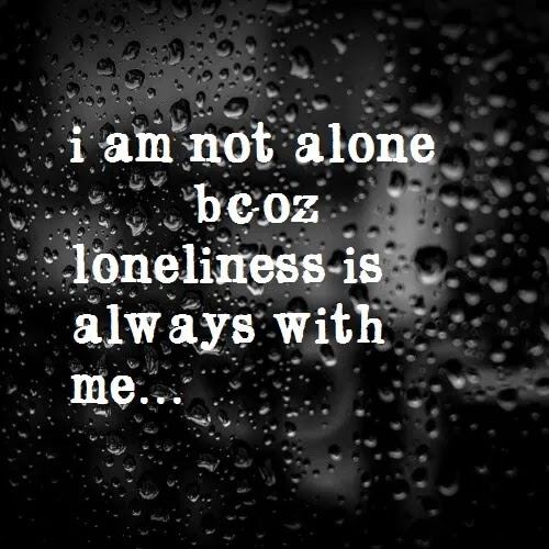 Loneliness always with me, Sad DP for girls