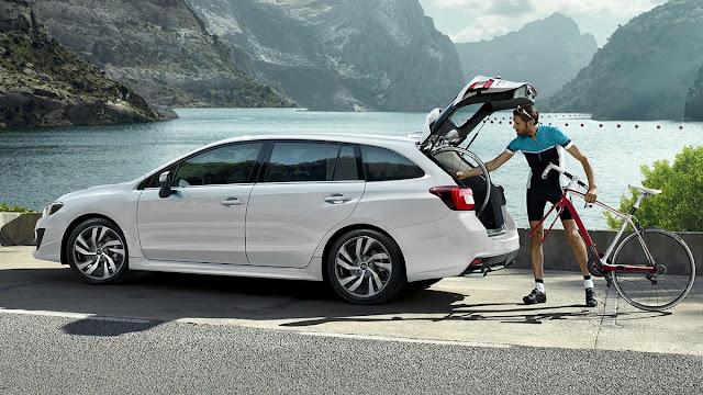【鍵盤車訊】熱血好爸爸的指標選項 --- Subaru Levorg - 不遜於 Legacy 的後廂水準