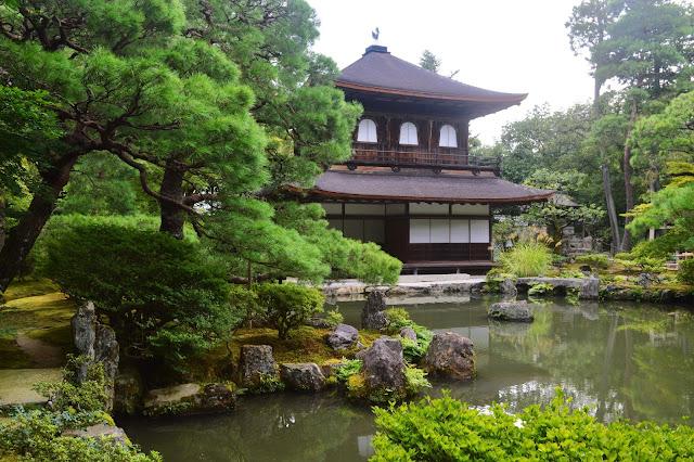 pavillon-d-argent, kyoto, japon,carnet-de-voyage