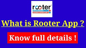 What is Rooter application, how to use it ?