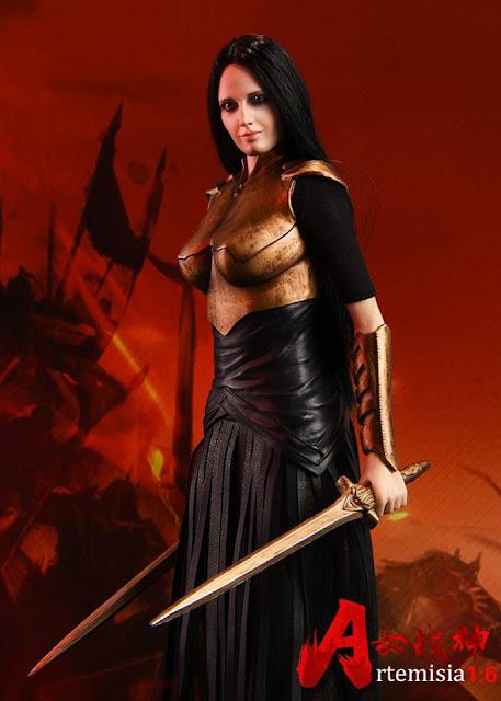 """osw.zone ASTOYS Scale 1: 6 Roman warrior """"Artemisia"""" aka Eva Green as General Artemisia"""