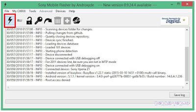Cara Mengembalikan Kapasitas Memory Internal Zony Xperia Docomo SO-01F Dari 16GB Menjadi 32GB Android Lollipop