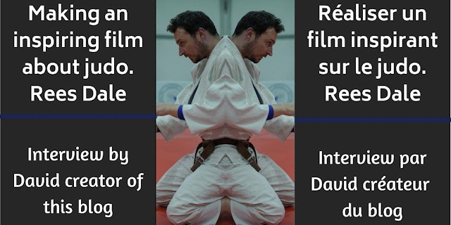 Making an inspiring film about judo. Rees Dale