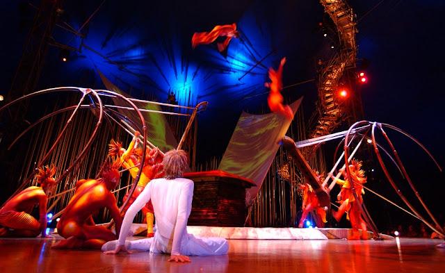 Show Varekai do Cirque du Soleil