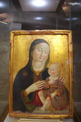 Uno dei dipinti esposti nel Museo del Duomo