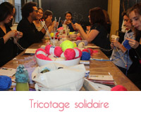 tricotage solidaire