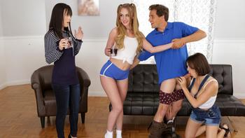 Alana Cruise, Daisy Stone, Krissy Lynn in Threesome Company Lovers And Friends