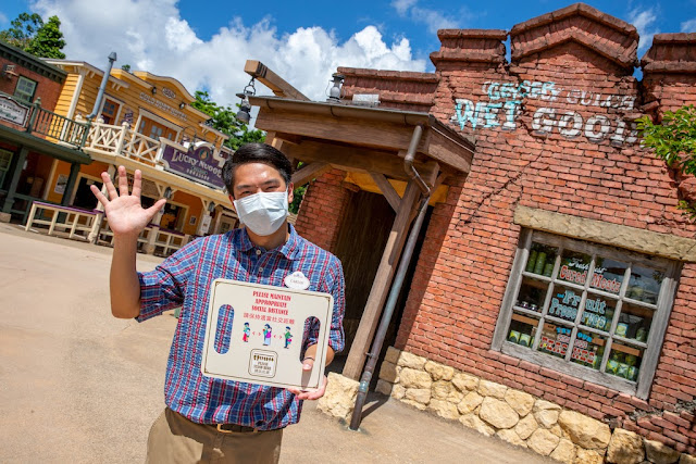 香港迪士尼樂園重開 Hong Kong Disneyland reopening cast members
