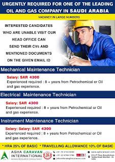 Oil and Gas Company Jobs in Saudi Arabia