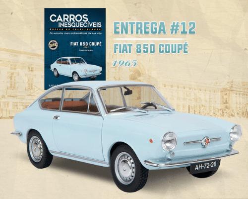 coleção carros inesquecíveis 1:24, coleção carros inesquecíveis 1:24 salvat, renault 4cv joaninha 1958, fiat 850 coupe 1:24