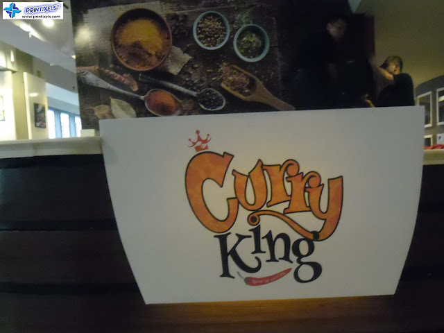 Restaurant Logo Sign - Curry King Philippines