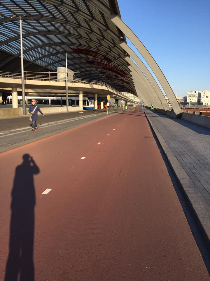 Rode skate piste Amsterdam - zoefzoef