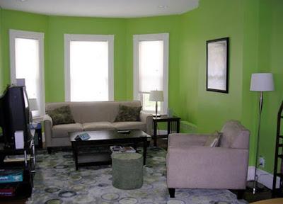 warna cat bagian dalam ruang tamu