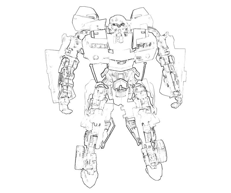 transformers cybertron coloring pages - photo#25