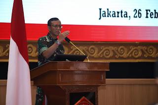 Aspers Panglima TNI : Bintal TNI Wujudkan Prajurit TNI Bermental Tangguh