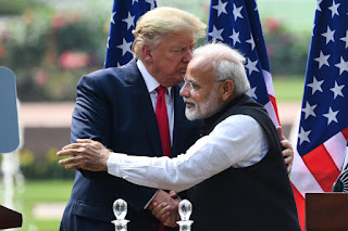 donald and pm modi