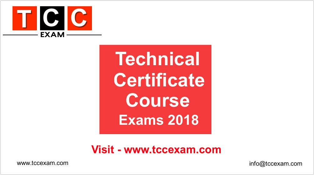 Tcc Exam Latest In Tcc Exam