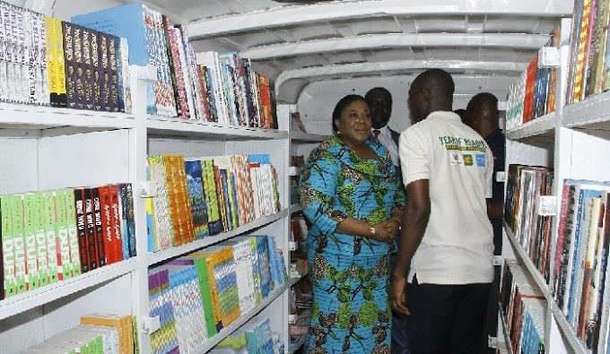 First Lady Rebecca Akufo-Addo Launches 'Year of Reading'