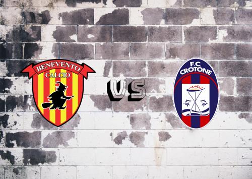 Benevento vs Crotone  Resumen