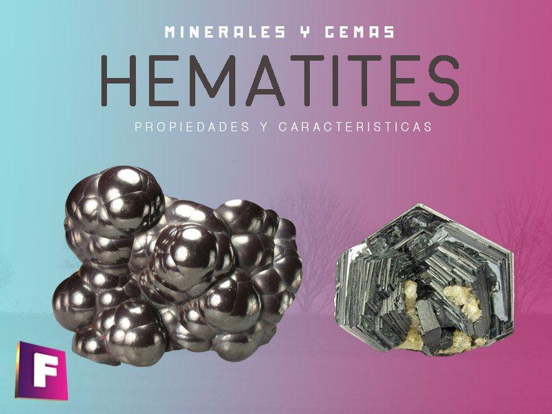 hematites propiedades características y aplicaciones primarias | foro de minerales