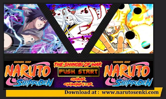 Download Naruto Senki TLF Mod Special Sasuke Rinnegan Apk
