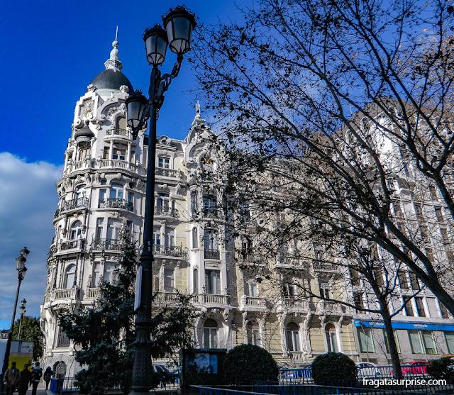 Madri, Praça de Espanha, Casa Gallardo, edifício de 1911