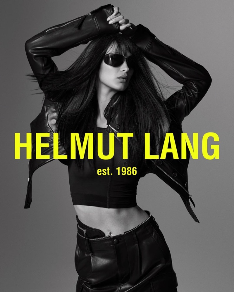 Bella Hadid stars in the Helmut Lang Spring/Summer 2020 Campaign