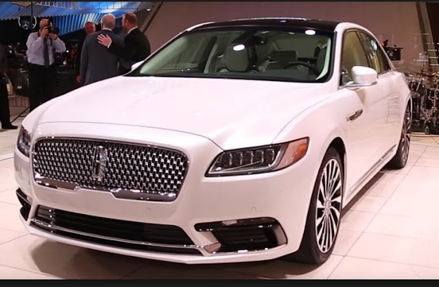 The 2017 Lincoln Continental Is Bringing Back The Olden Days Real American Luxury Car