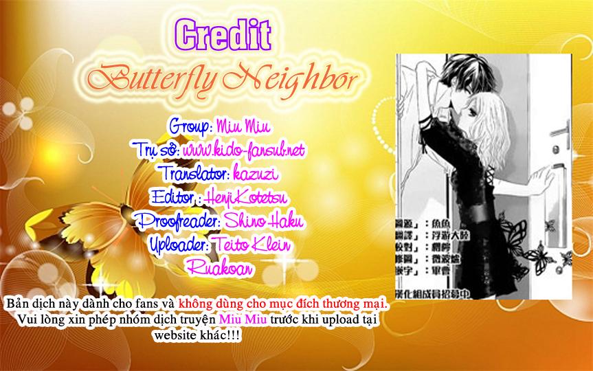 Butterfly neighbour chap 1 - Trang 2