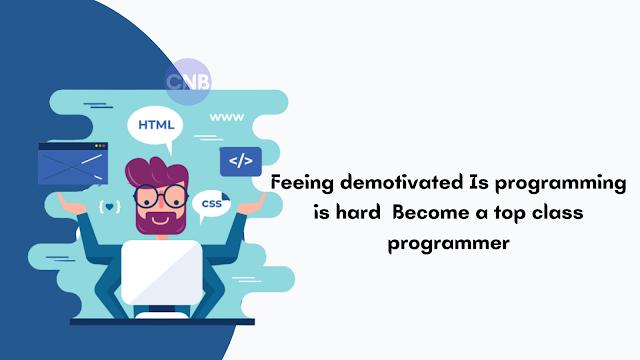 Is programming is hard