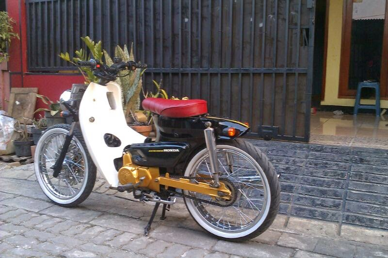 contoh honda astrea grand modifikasi retro