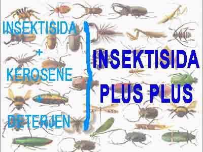 Meningkatkan Efektifitas Insektisida Dengan Minyak Tanah dan Deterjen