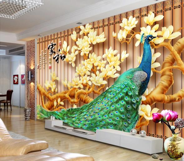 Tranh 3D Phòng Khách Đẹp