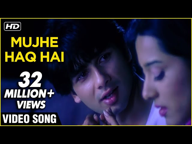 Mujhe Haq Hai - Udit Narayan & Shreya Ghoshal Songs - Ravindra Jain Hit Songs - Udit Narayan, Shreya Ghoshalrics lyrics in hind